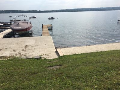 Photo for Newly Listed! Level Lakefront Home On Spectacular Skaneateles Lake close to town