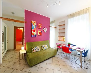 Photo for NEW and colored flat ,10 minutes from Ancient Rome
