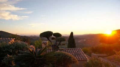 Photo for Villa Valcros in a quiet location with pool and panoramic views of sea and islands