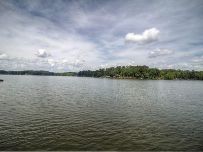 Photo for Beautiful Lake Views and Large Deck Overlooking the Water!