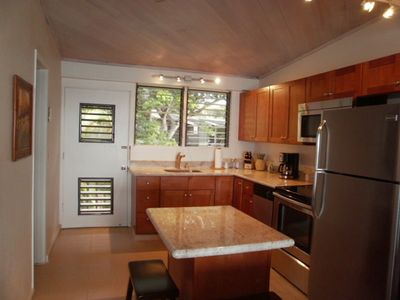 A beautiful, updated kitchen for your convenience.
