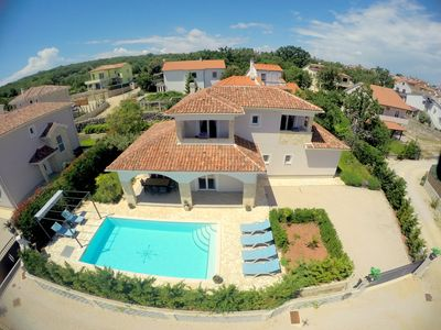 Photo for VILLA MARC : 5***** house with a large pool, sea view, only 900m from the sea