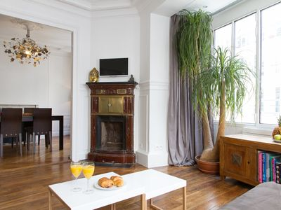 Photo for IN THE HEART OF PARIS - SAINT HONORÉ STREET - APARTMENT CHIC CLOSE TO LOUVRE