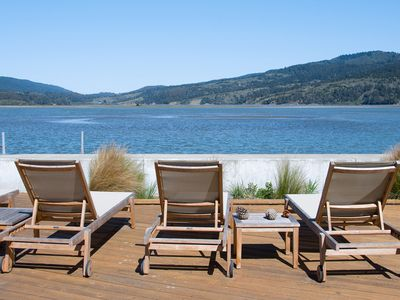 Photo for Spacious home with stunning views on the Bolinas Lagoon