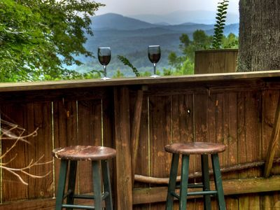 Photo for At Brown Bear Bungalow, enjoy the dreamy sunsets over the Cohutta Wilderness. Pet-friendly.