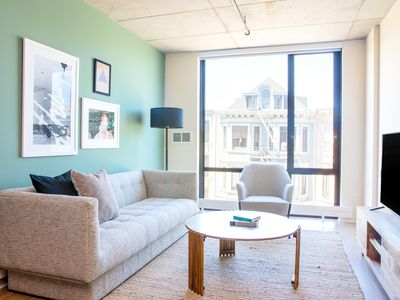 Photo for Sonder | Duboce Apartments | Lively 1BR + Rooftop