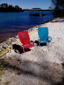 Photo for WHITE SAND BEACH, UV HVAC PROTECTED- NEW F. RING & PVT DOCK-DEEP WATER