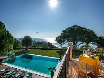 Photo for Beautiful sea view villa. Large pool and gardens. L780