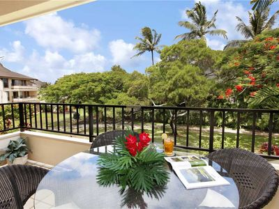 "Photo for Poipu Vacation Rental 5 min Walk to Poipu Beach ""AC Master Suite "" *Kahala 822*"