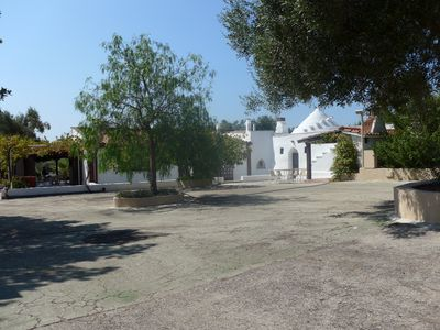 Photo for Big villa, 10000 qm nature, 5 minutes by car to the beach, dogs allowed