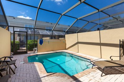 Enjoy your own private screened-in pool