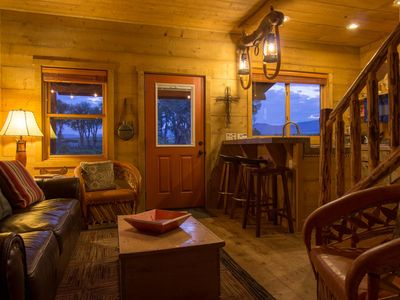 """Photo for Beautiful 1 BR """"Barn"""" Cabin - Perfect for Small Families"""
