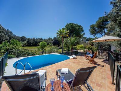 Photo for Mallorca villa with pool sleeps 10