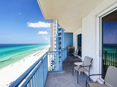 Photo for Gulf Front Luxury Condo At Sterling Breeze-Near Pier Park