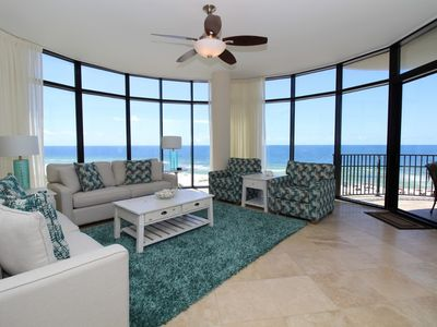 Photo for Capri 401- Beach Front Unit with Upscale Amenities & Large Terrace!