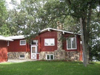 Photo for Remodeled Log Cabin Home on the Chain of Lakes