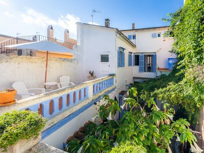Photo for Charming Town House with romantic Garden - Villa Ithaka Petite