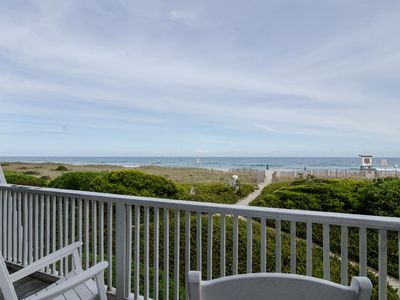 Photo for Enjoy private beach access for sunrise and community pier/gazebo for sunsets