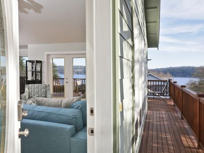 Photo for New listing: 4 BR Beautiful House, stunning views, walk to Golf and Beach.