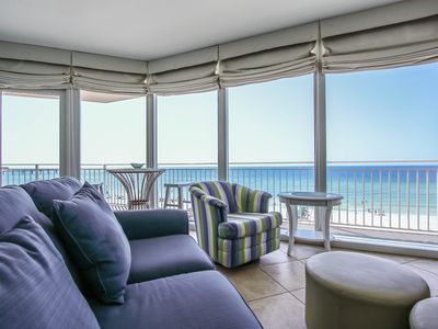 Photo for Waterscape B500 ~ Scrumptiously Stylish! Gulf & Courtyard Views ~ 3 Suites Plus Bunkroom