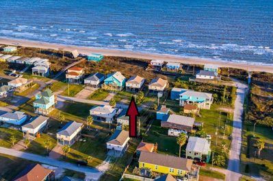 Aerial view of Sandy Bottoms