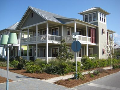 Front Exterior | Masterpiece Combo | Cottage Rental Agency | Seaside, Florida