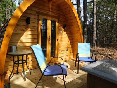 "Photo for Iris Hill Glamping -""Ted"" pod - 5th night FREE"