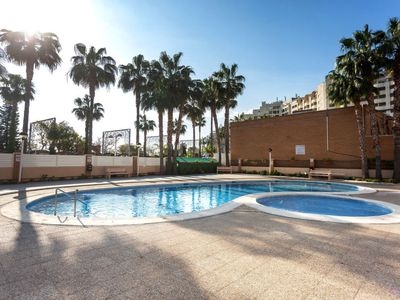 Photo for Marina d'Or Apartment, Sleeps 4 with Pool, Air Con and Free WiFi
