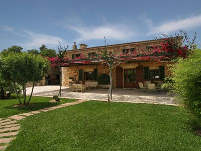 Photo for A typical Majorcan country house with private pool