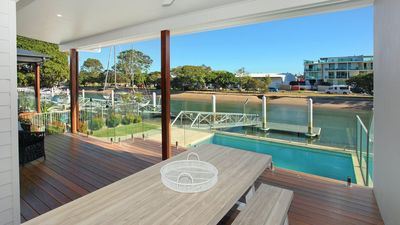 Photo for Culbara 23b - Five Bedroom Townhouse With Pontoon + Pool + Media Room and BBQ in Mooloolaba