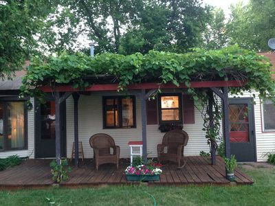 Photo for Waterfront Cottage: 2 bedroom, 1.5 bathrooms