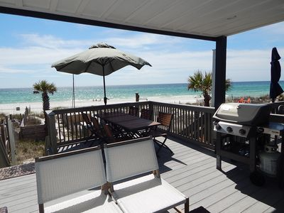 Photo for Gulf front upscale townhome, close to to Pier Park or 30A, Rosemary, Watercolor