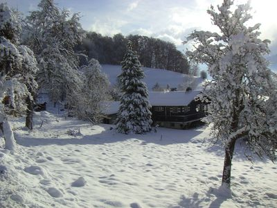Photo for Sunny position, spectacular views, quiet and beautiful in charming Samoens