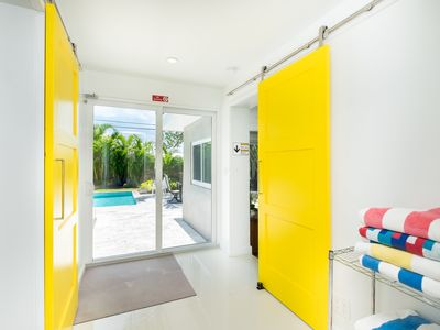 Photo for Fort Lauderdale renovated Wilton Manors mid-century modern with private pool.