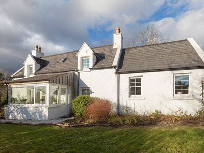 Photo for Traditional Skye Crofter's Cottage sleeps six close to mountains, sea and beach