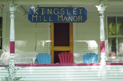 Kingsley Mill Manor, a place to relax and enjoy