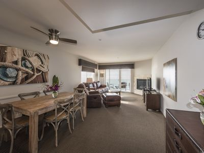 Photo for True Beachfront 2BR Condo in the Heart of Carlsbad