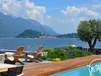 Photo for Villa Breakwater, a Luxurious Lakefront Villa with Exquisite Views & Amenities