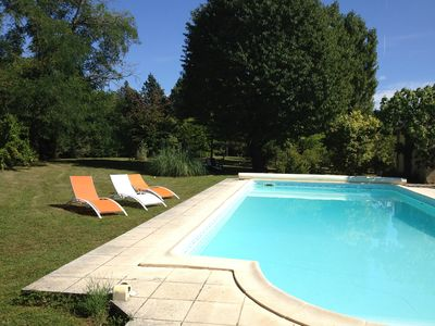 Photo for GITE (2 HOUSES) WITH POOL