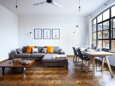 Photo for Spacious Manhattan style Loft in London next to SOHO