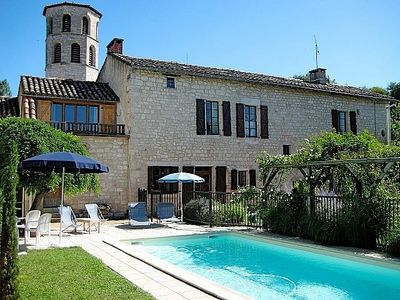Photo for 15th Century Former Presbytery With Private Pool In A Charming Village