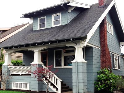 Photo for Hawthorne Craftsman home (entire home)
