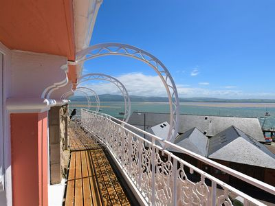 Photo for Stunning views from this sea front 2 bedroom apartment, sleeps up to 6 persons