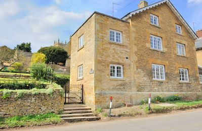 Photo for Plum Tree Cottage is at the end of a row of six Cotswold stone cottages, just outside of Blockley.