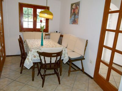 Photo for Apartment in the center of Stomorska with Parking, Internet, Air conditioning, Garden (114563)