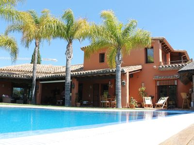 Photo for Amazing villa 5 bedrooms sea view and infinity private pool!