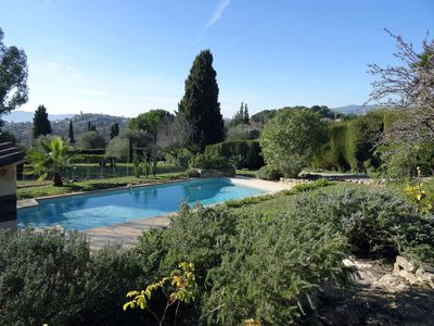 Photo for charming, full exposure, full calm, beautiful Provencal view & pool