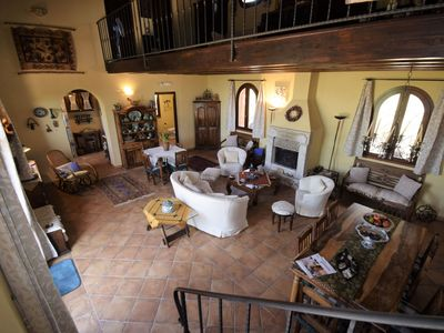 Photo for Stunning private villa for 10 people with WIFI, A/C, TV and parking