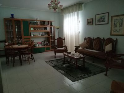 Photo for 130 sqm apartment fully furnished, with balconies and veranda, bright.