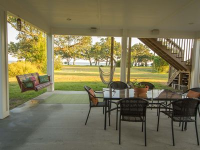 Beach Just Steps From Back Porch! Short Walk to Town/Attractions!